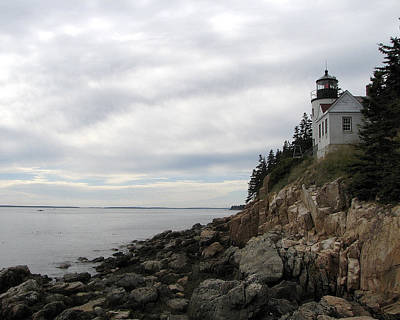 Photograph - Bass Harbor Lighthouse 1 by George Jones