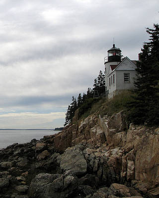Photograph - Bass Harbor Lighthouse 2 by George Jones