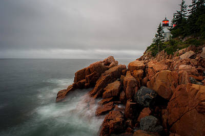 Photograph - Bass Harbor Lighthouse by Jeff Phillippi