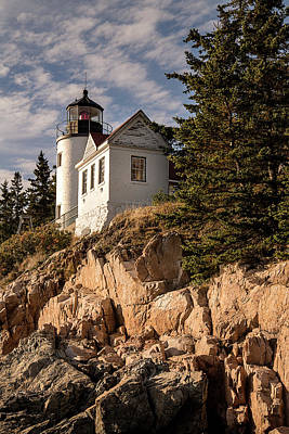 Photograph - Bass Harbor Lighthouse by Lee Kirchhevel