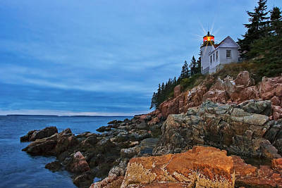 Architectural Photograph - Bass Harbor Lighthouse by Marcia Colelli
