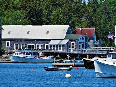 Photograph - Bass Harbor Maine by Lisa Dunn