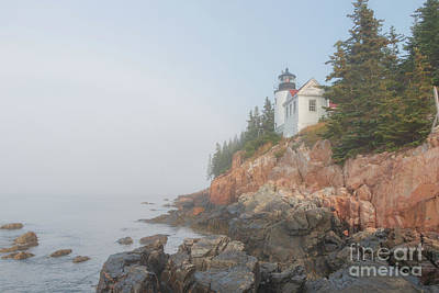 Photograph - Bass Harbor Sunrise A by Elizabeth Dow