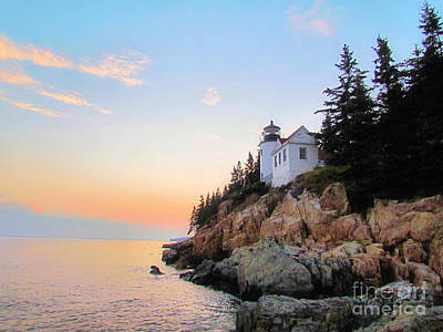 Bass Harbor Sunset II Art Print
