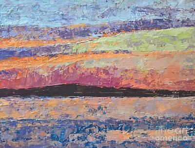 Painting - Bass Lake, Michigan by Lisa Dionne