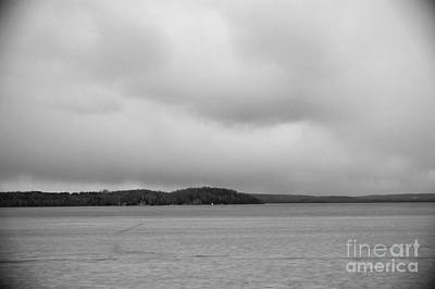 Photograph - Bass Lake Orillia by Elaine Mikkelstrup