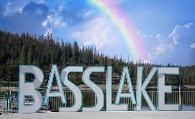 Photograph - Bass Lake Rainbow by Lynn Bauer