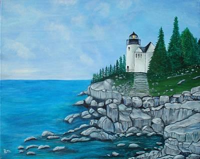 Bass Lighthouse Art Print