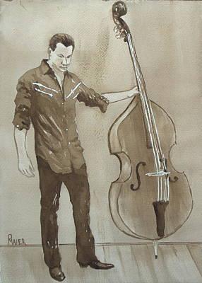 Bass Man Original by Pete Maier