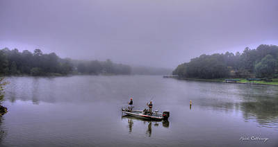 Bass Masters Lake Oconee Fishing Art Art Print