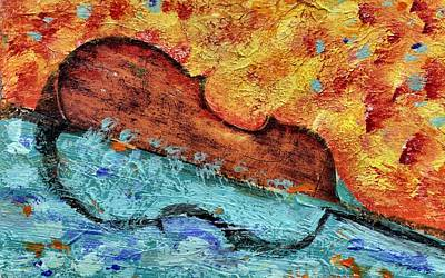 Bass On Water Art Print by Eric HERVE