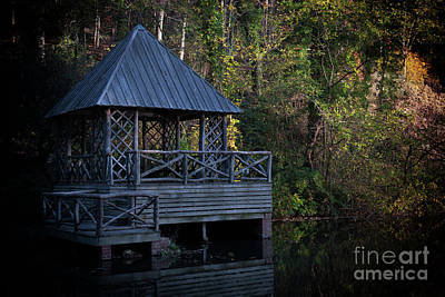 Photograph - Bass Pond At Biltmore by Dale Powell