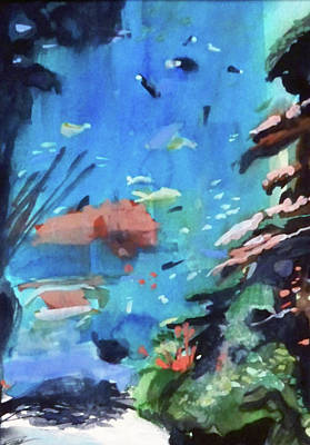 Painting - Bass Pro Outdoor World by Ed Heaton