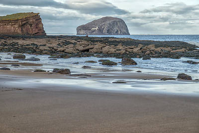 Photograph - Bass Rock by Jeremy Lavender Photography
