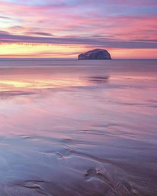 Photograph - Bass Rock Seacliff by Scott Masterton