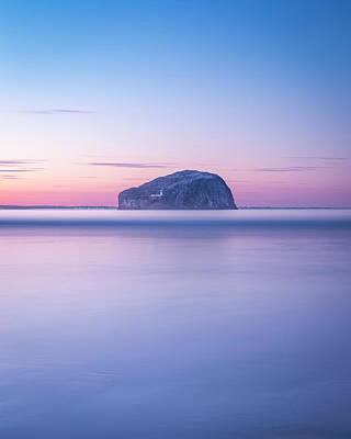 Photograph - Bass Rock Sunset by Scott Masterton