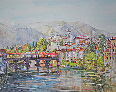 Painting - Bassano Del Grappa by P Anthony Visco