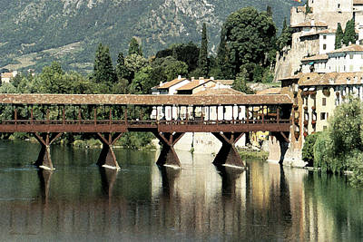 Photograph - Bassano's Bridge by Donna Corless