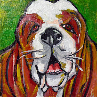 Basset Hound Art Print by Ilene Richard