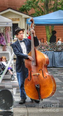 Photograph - Bassist by David Bearden