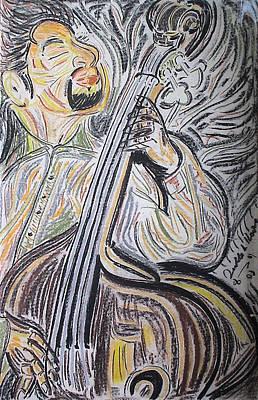 Bassman Art Print by Diallo House