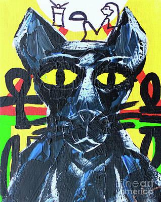Painting - Bast by Odalo Wasikhongo