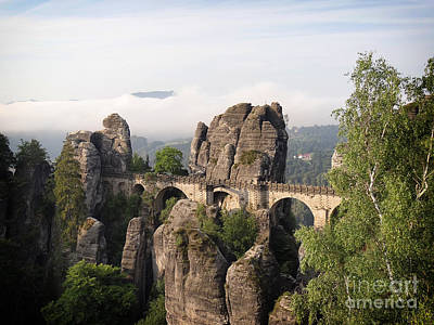 Photograph - Bastei Bridge In Saxon Switzerland by IPics Photography
