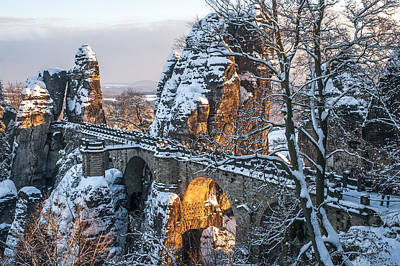 Photograph - Bastei. Saxon Switzerland by Jenny Rainbow