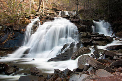 Photograph - Bastion Falls In April by Jeff Severson
