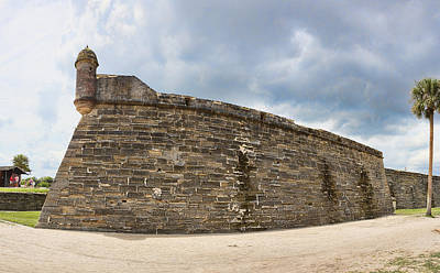 Photograph - Bastion On Castillo De San Marcos by Gregory Scott