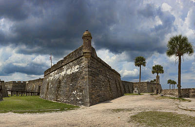 Photograph - Bastions On Castillo De San Marcos by Gregory Scott