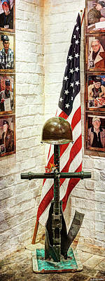 Photograph - Bastogne Barracks Veterans Room by Weston Westmoreland