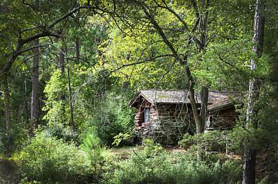 Photograph - Bastrop Cabin by Brian Kinney
