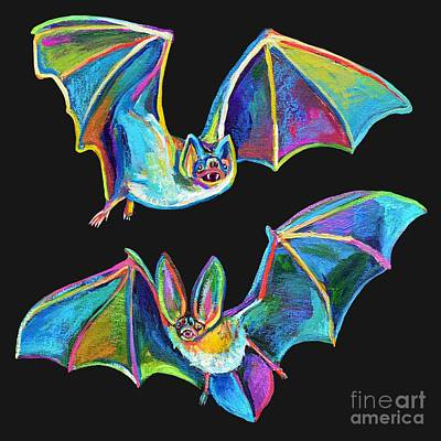 Painting - Bat Brothers by Robert Phelps
