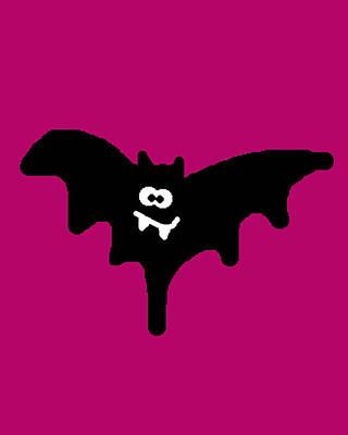 Bat Art Print by Jera Sky