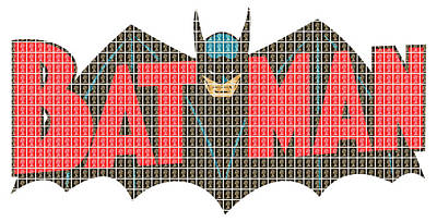 Bat Man Original by Gary Hogben