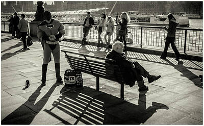 Photograph - Bat Man by Stewart Marsden