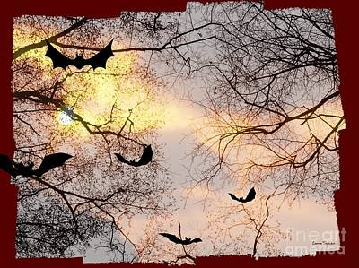 Photograph - Bat Out Of Hell-  Within Border by Leanne Seymour