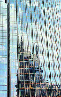 Nashville Tennessee Photograph - Bat Tower Reflected by Kristin Elmquist