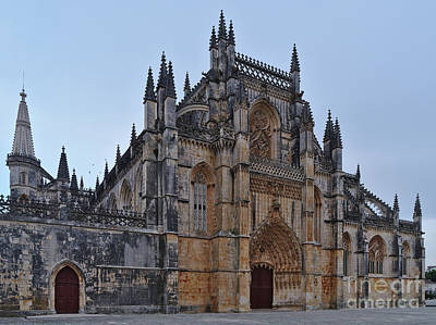 Photograph - Batalha Monastery. Portugal by Angelo DeVal