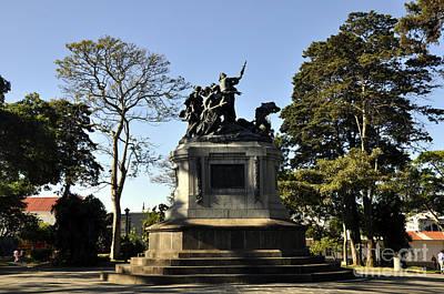 Photograph - Batalla De Rivas Park 2 by Andrew Dinh