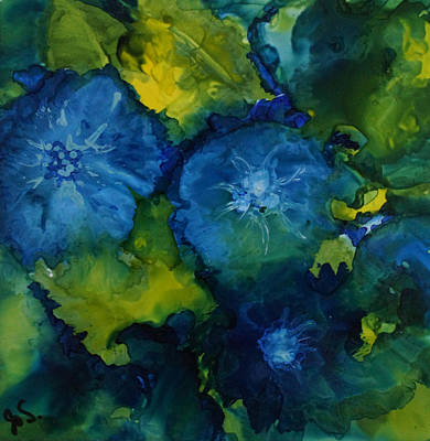 Painting - Batchelor Buttons  by Joanne Smoley