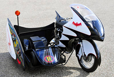 Batman And Robin Photograph - Batcycle by David Lee Thompson