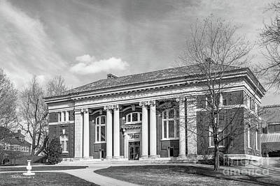 Photograph - Bates College Coram Library by University Icons