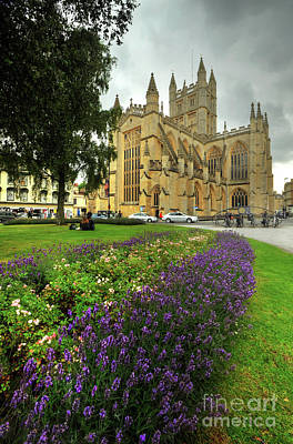 Photograph - Bath Abbey 1.0 by Yhun Suarez