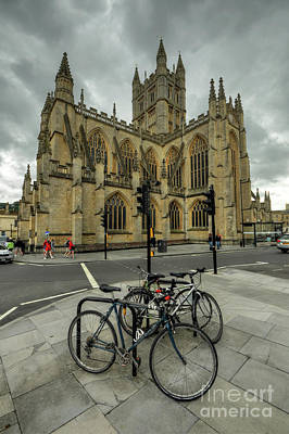Photograph - Bath Abbey 2.0 by Yhun Suarez