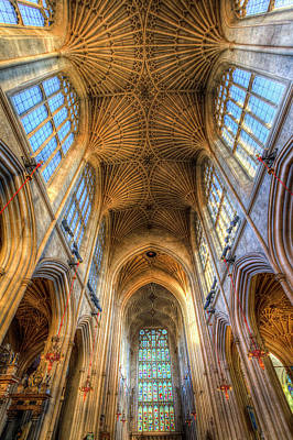 Photograph - Bath Abbey England by David Pyatt