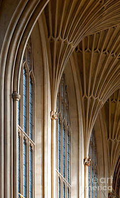 Photograph - Bath Abbey Interior by Colin Rayner