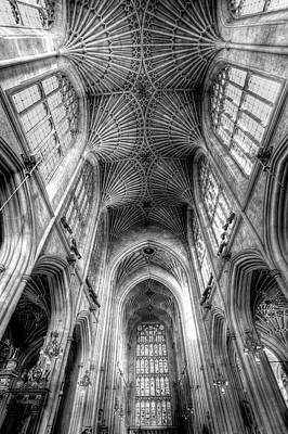 Photograph - Bath Abbey Somerset England by David Pyatt