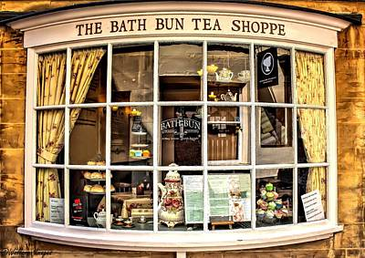 Photograph - Bath Bun Tea Shoppe by Wallaroo Images